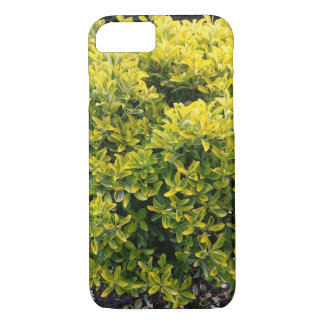 Green and yellow bush iPhone 7 case