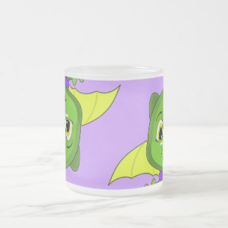 Green And Yellow Chibi Dragon Coffee Mug