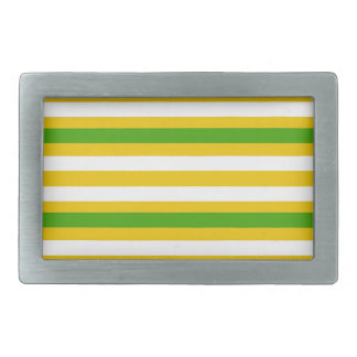 Green and Yellow Look Belt Buckle