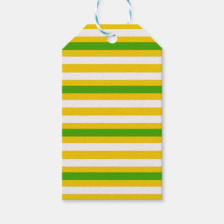 Green and Yellow Look Gift Tags