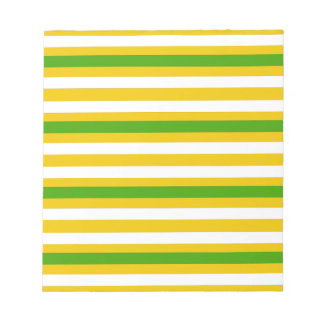 Green and Yellow Look Notepad