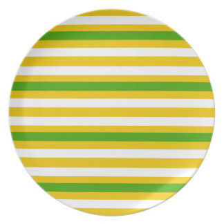 Green and Yellow Look Plate