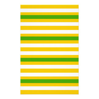 Green and Yellow Look Stationery