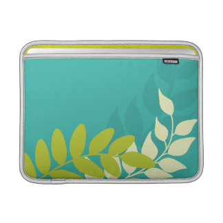 Green and Yellow Vines Sleeve For MacBook Air