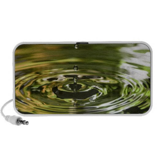 Green and Yellow Water Droplet (5) Speaker