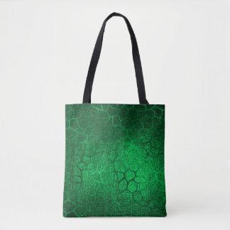 Green Animal Print Tote Bag
