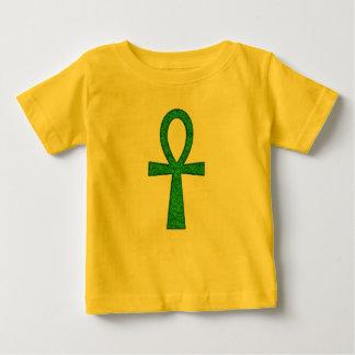 Green Ankh Baby Baby T-Shirt