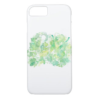 Green Apple Abstract Watercolor iPhone 8/7 Case