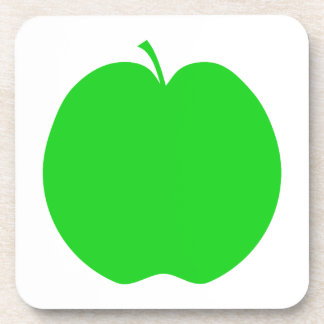 Green Apple. Coaster