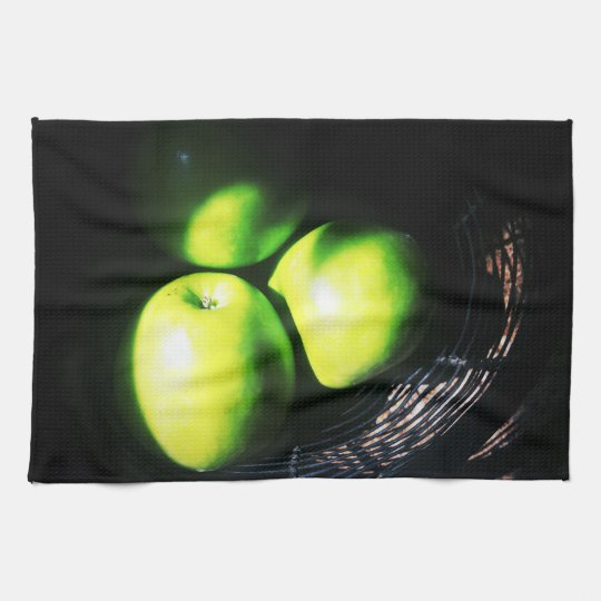 Green Apple Dish Towel