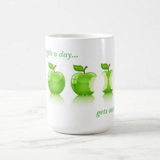 Green Apple For Life Coffee Mug