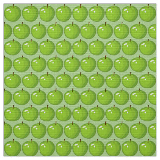 Green Apple KItchen Fabric 2
