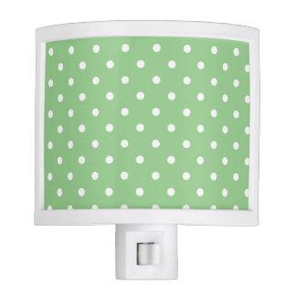 Green Apple Polka Dot Night Light