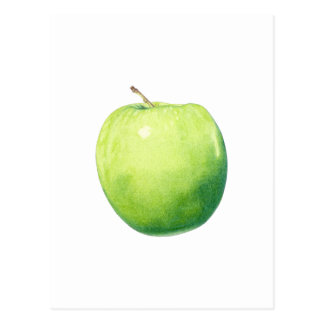 Green Apple Postcard