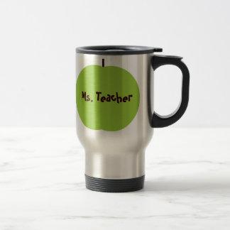 Green Apple Teacher Mug
