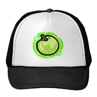 Green Apple Trucker Hat