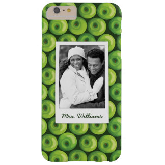 Green Apples | Add Your Photo Barely There iPhone 6 Plus Case