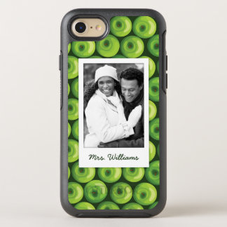 Green Apples | Add Your Photo OtterBox Symmetry iPhone 8/7 Case