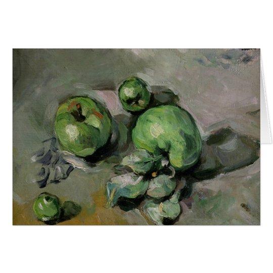 Green Apples, c.1872-73 Card