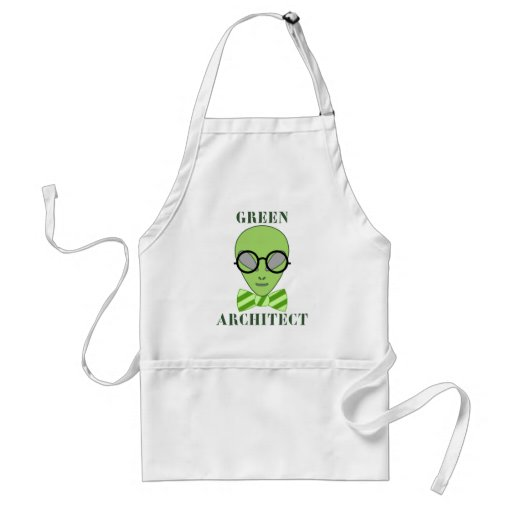 Green Architect Apron