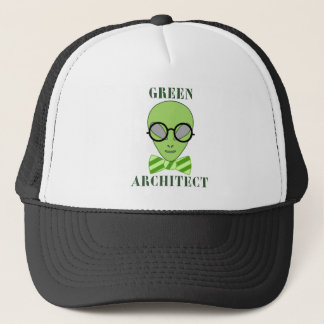 Green Architect Trucker Hat