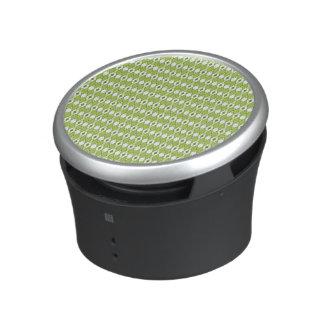 Green Argyle Bumpster Speaker