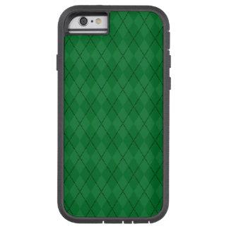 Green argyle pattern tough xtreme iPhone 6 case