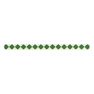 green argyle ribbon grosgrain ribbon