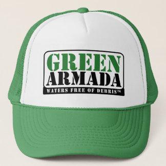 Green Armada Trucker Hat