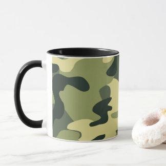 Green Army Camo Camouflage Pattern Mug
