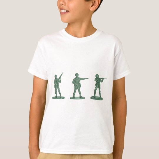 Green Army Men T-Shirt