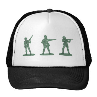 Green Army Men Trucker Hat