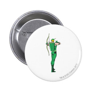 Green Arrow Back View 2 Inch Round Button