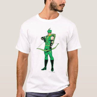 Green Arrow Standing with Bow T-Shirt