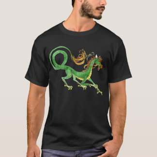 Green Asian Dragon shirt