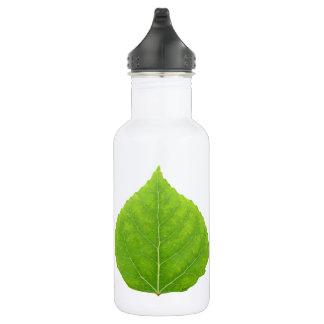 Green Aspen Leaf #11 532 Ml Water Bottle