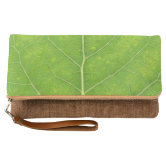 Green Aspen Leaf #11 Clutch
