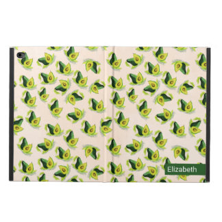 Green Avocados Watercolor Pattern Personalized