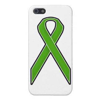 Green Awareness Ribbon Cover For iPhone 5/5S