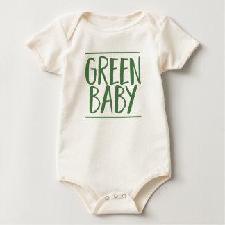 Green Baby Baby Bodysuit