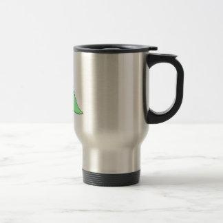 Green baby blankie coffee mug