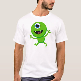 Green Baby Cyclops T-Shirt