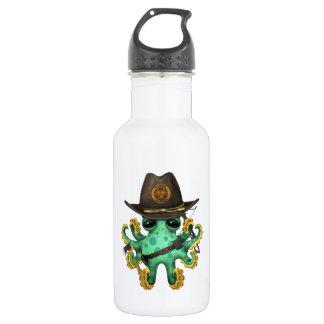 Green Baby Octopus Zombie Hunter 532 Ml Water Bottle