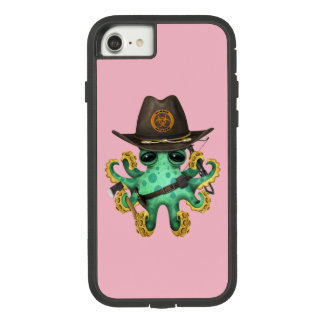 Green Baby Octopus Zombie Hunter Case-Mate Tough Extreme iPhone 8/7 Case
