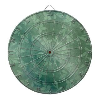 Green background dartboard