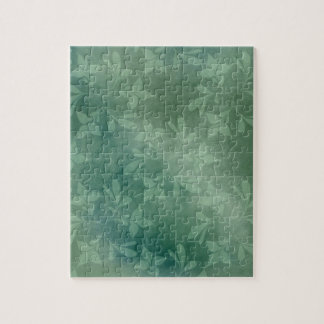 Green background jigsaw puzzle