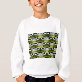 Green background sweatshirt