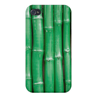 Green Bamboo Cover For iPhone 4