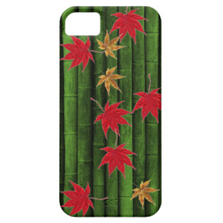 green bamboo japan maples iPhone 5 covers