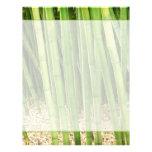Green Bamboo Letterhead Template